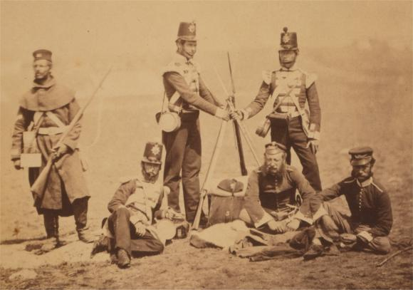 Piling Arms (Photo by Roger Fenton)