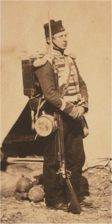 Private in Full kit - Roger Fenton photo