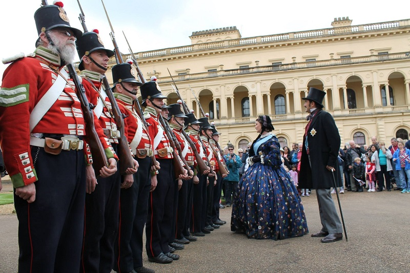 19th Foot at Osborne House 2010