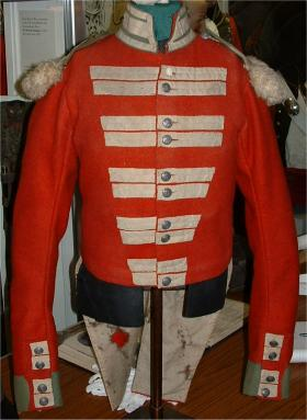 Coatee, 19th Regt Foot, Green Howards Museum